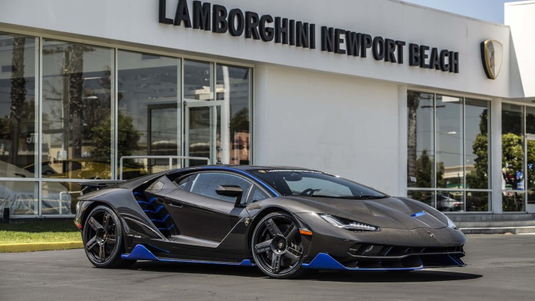 The Lamborghini Centenario: The World's Newest Hypercar