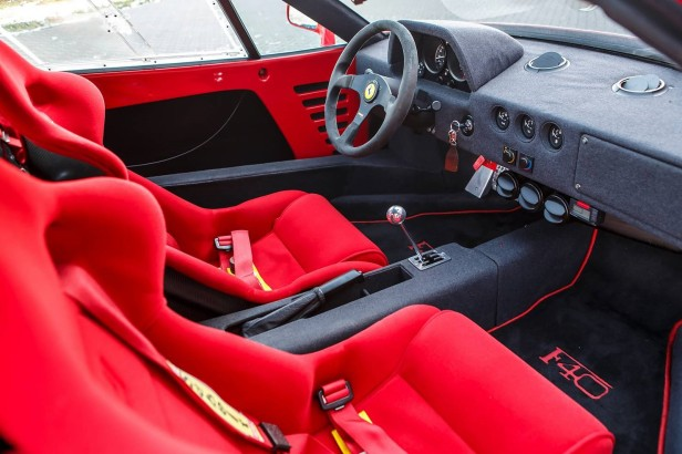 The Ferrari F40 Living Through The Ages The Gated Shifter